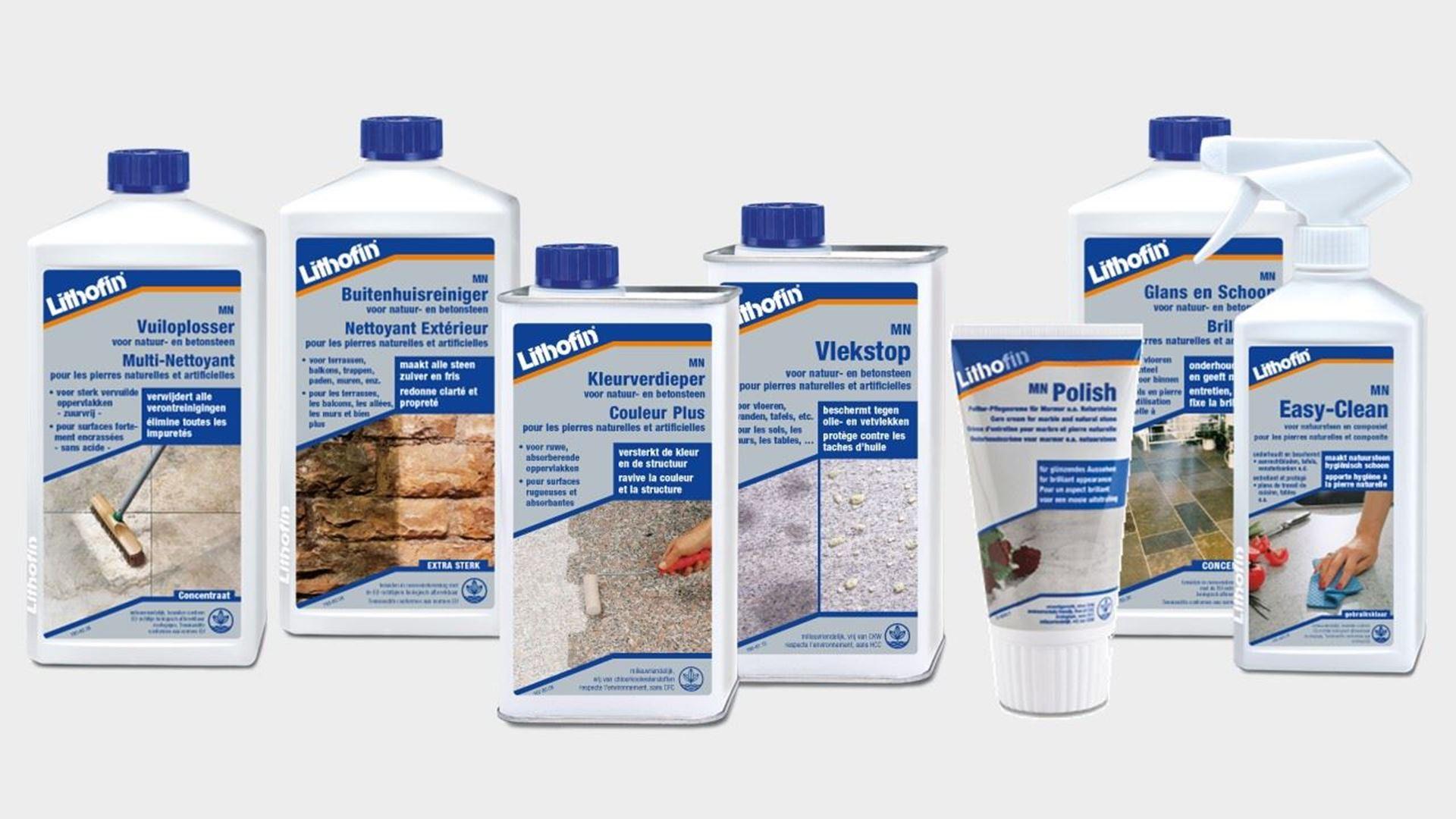 Image de la catégorie produits LITHOFIN pour pierres naturelles - Ligne MN