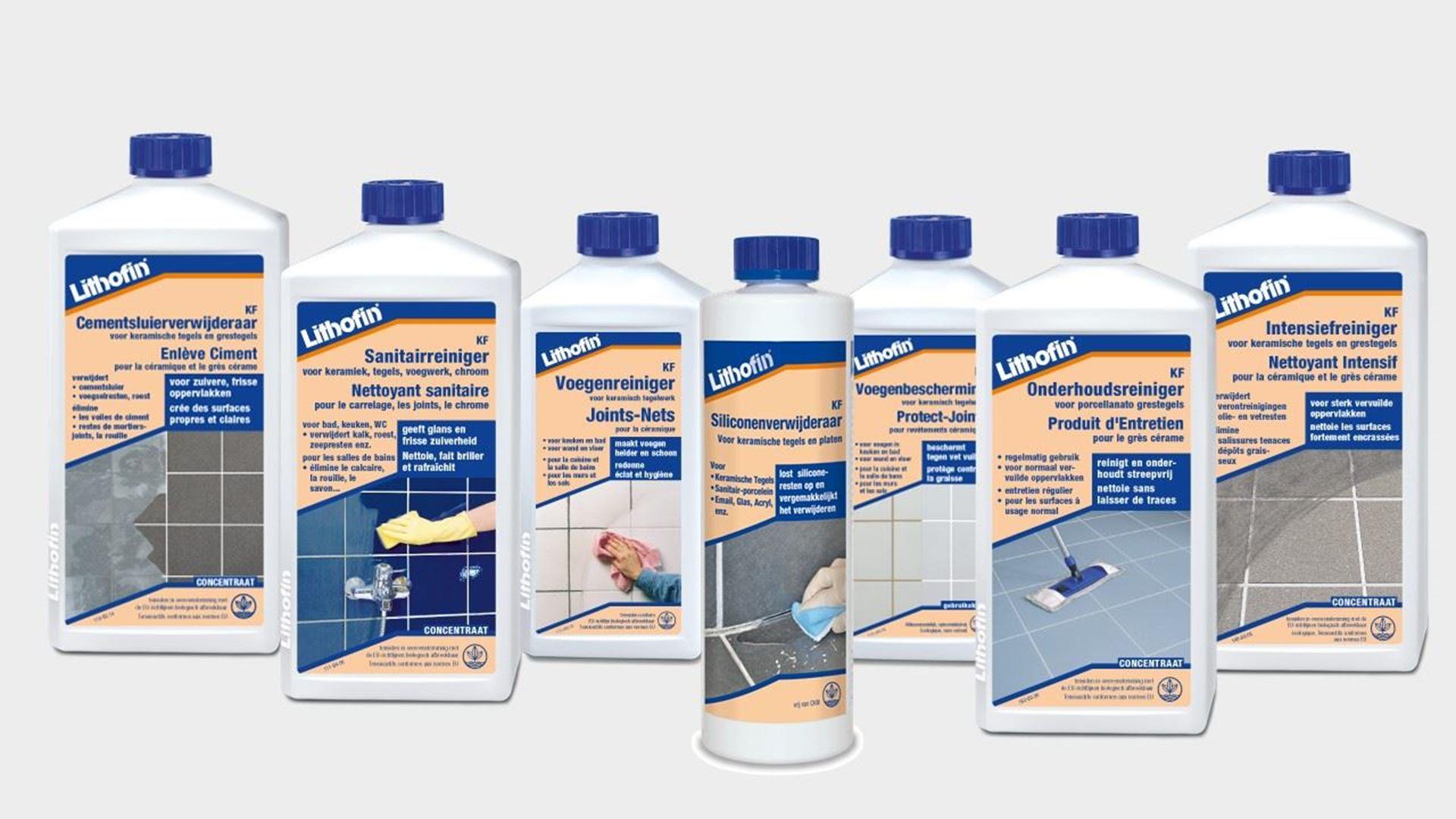 Afbeelding voor categorie de LITHOFIN KF-lijn : producten voor keramische tegels en sanitair