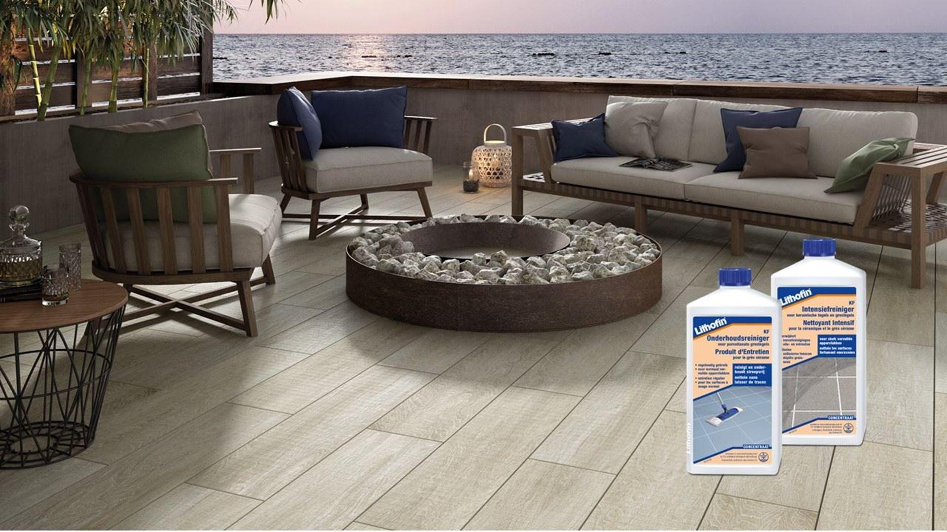 Image de la catégorie Entretien des Terrasses en Carreaux de Céramique