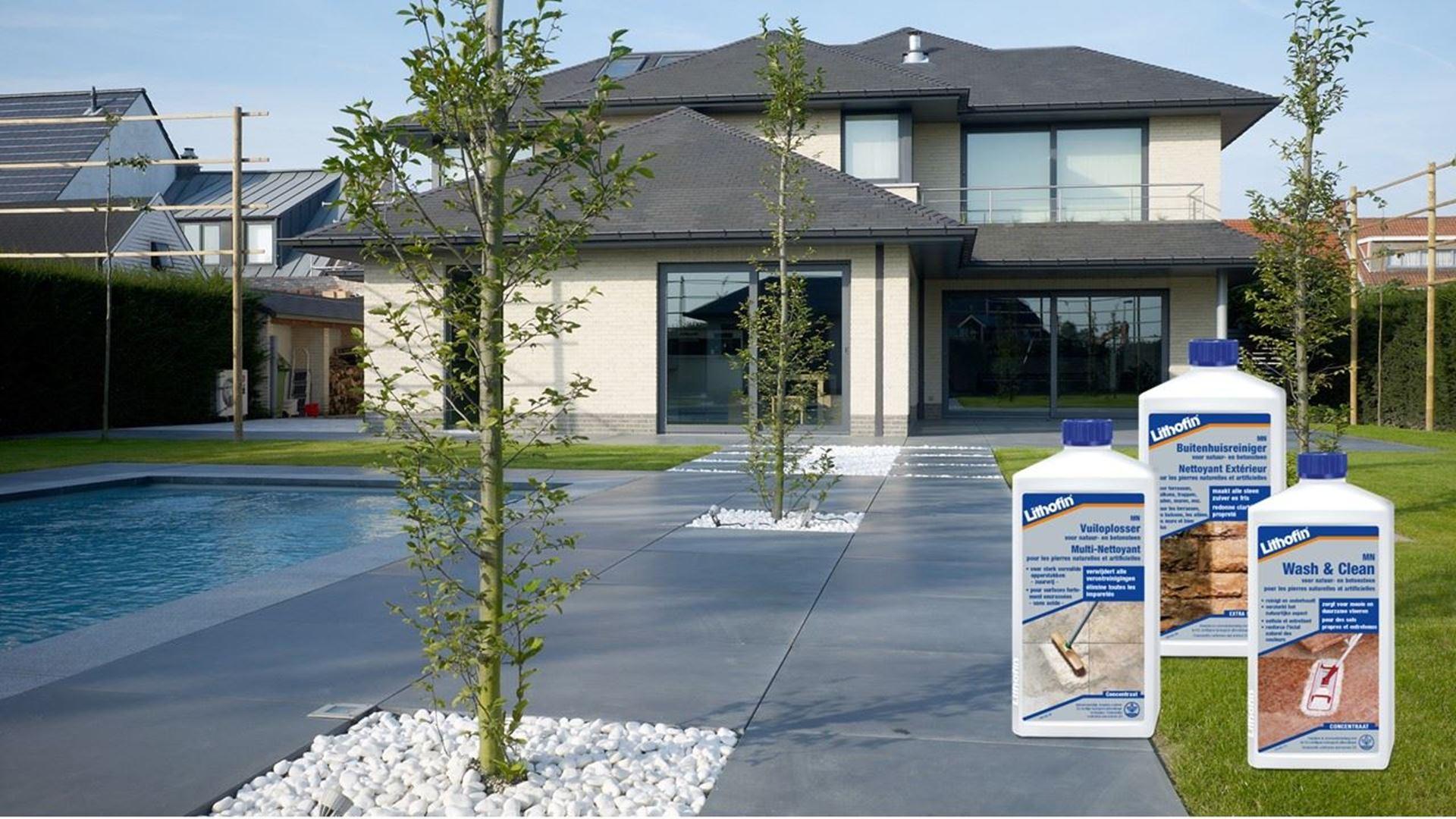 Afbeelding voor categorie Onderhoud van Terrassen in Betontegels en Betonklinkers