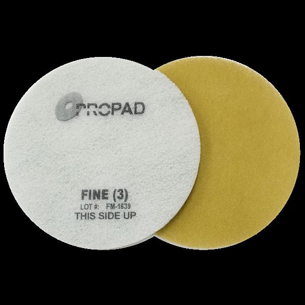 Image sur PROPAD Pad pour Sols ETAPE 5 JAUNE 'Fine'