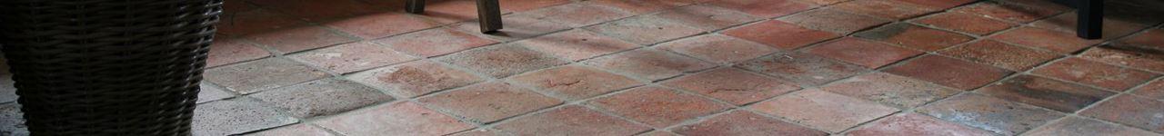 vloer terracotta