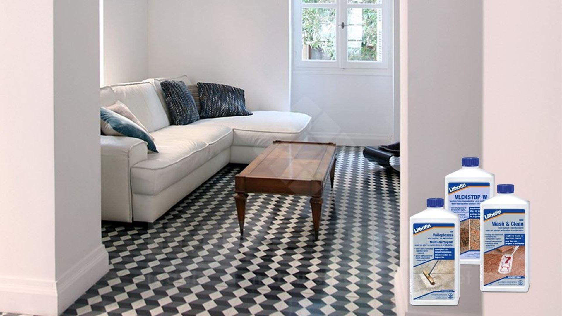 Afbeelding voor categorie Onderhoud Vloeren in Cementtegels