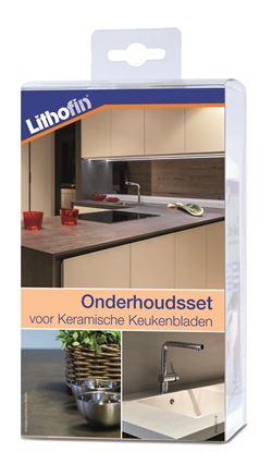 Afbeeldingen van Lithofin Onderhoudsset voor keramische werkbladen