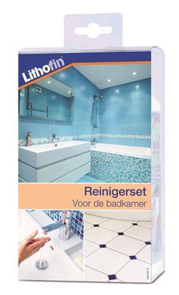 Afbeeldingen van NIEUW : Lithofin Onderhoudsset voor de badkamer