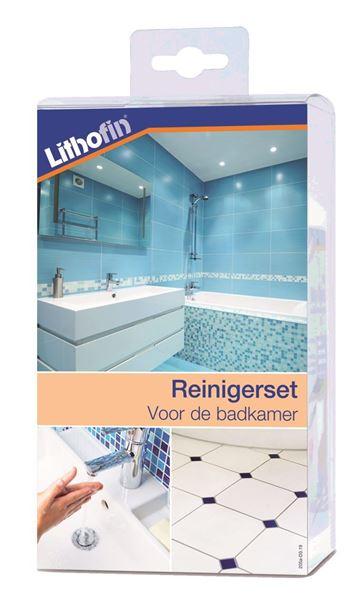 Afbeelding van NIEUW : Lithofin Onderhoudsset voor de badkamer