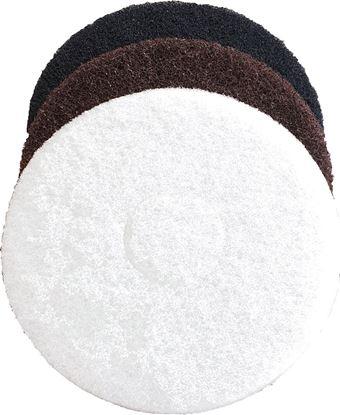 Image de PROPAD Floorpolisher pads/feutres -BLANC-