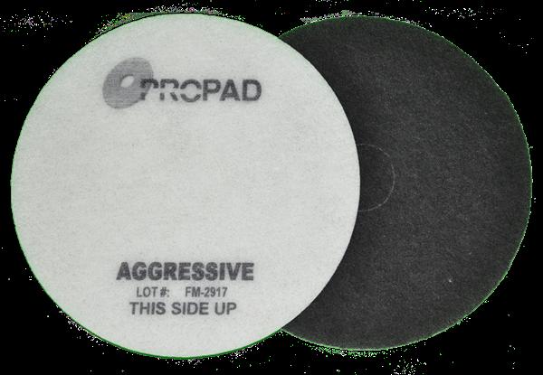 Afbeelding van PROPAD vloerpad STAP 1 ZWART 'Agressive'